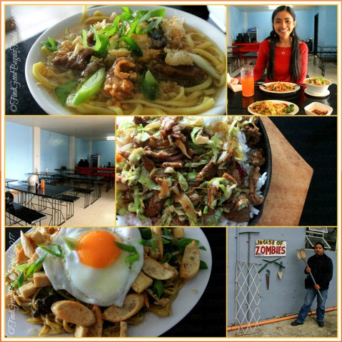 Baguio What's Up Duck Cafe & Resto in soft opening beep beep mami with balut, nagpatopatong pancit, pigar pigar, in case of zombies 2017