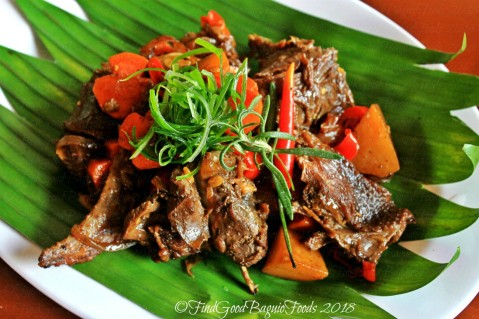 Baguio What's Up Duck Cafe & Resto spicy duck adobo 2018
