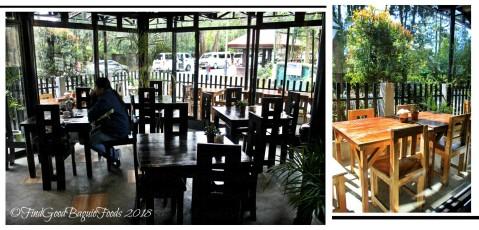 Baguio Rumah Sate Indonesian-Malaysian Cuisine dining area 2018