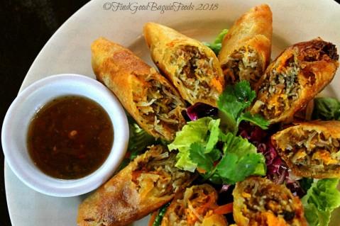 Baguio Rumah Sate Indonesian-Malaysian Cuisine crispy spring rolls 2018