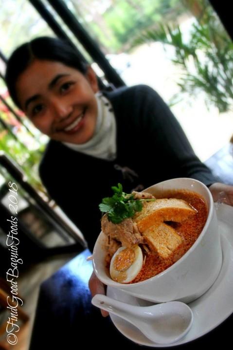 Baguio Rumah Sate Indonesian-Malaysian Cuisine laksa and Xine 2018