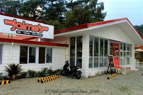 Baguio Jaime's Family Feast Ribs Shrimp Fried Chicken resto 2018