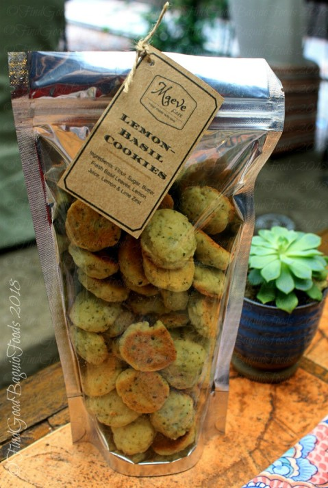 Baguio Maeve Cafe at Lucia's Bed and Breakfast lemon basil cookies 2018