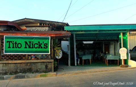 Baguio Tito Nick's 2018 facade