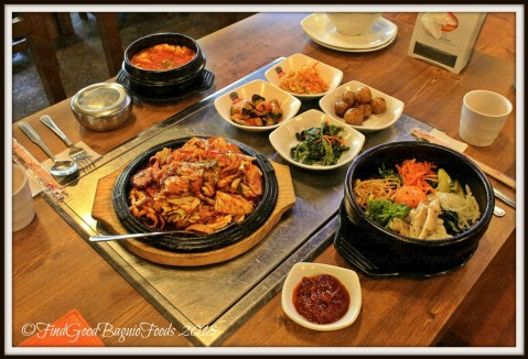 Baguio Woodnymph Korean Restaurant Military Cut Off lunch 2018