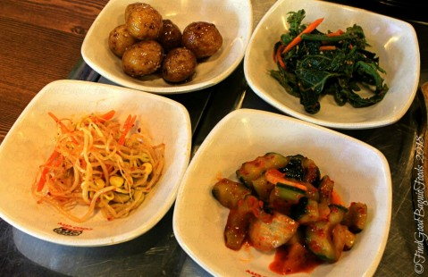 Baguio Woodnymph Korean Restaurant Military Cut Off side dishes banchan 2018