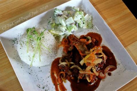 La Trinidad metro Baguio Le Festin Bistro BBQ pork ribs 2018