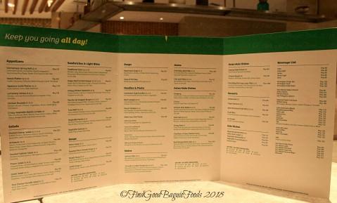 Baguio Lamisaan Dining and Bar at The Holiday Inn 2018 menu
