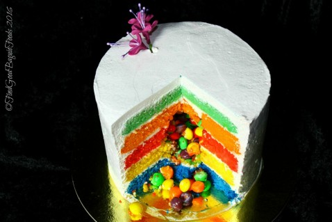 Baguio Cassandro's Catering & Cakery Co. rainbow cake 2016