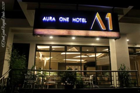 Baguio Aura 1 Hotel facade 2018