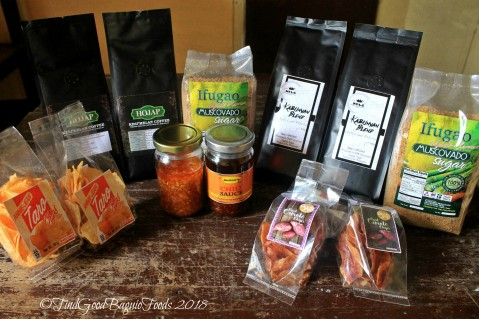 DTI Ifugao food tasting 2018