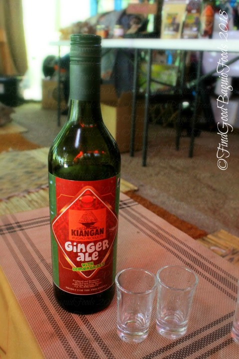 Ifugao Os-os Farm Products ginger ale 2018