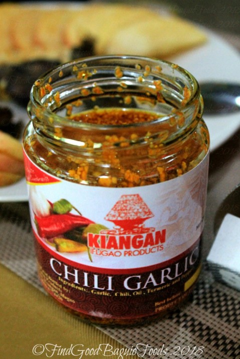 Ifugao Os-os Farm Products 2018 chili garlic