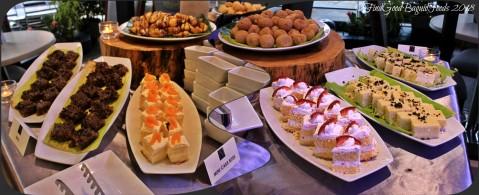 Baguio Aura 1 Hotel inhouse restaurant dessert table 2018