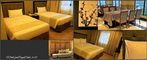 Baguio Aura 1 Hotel rooms and function room 2018