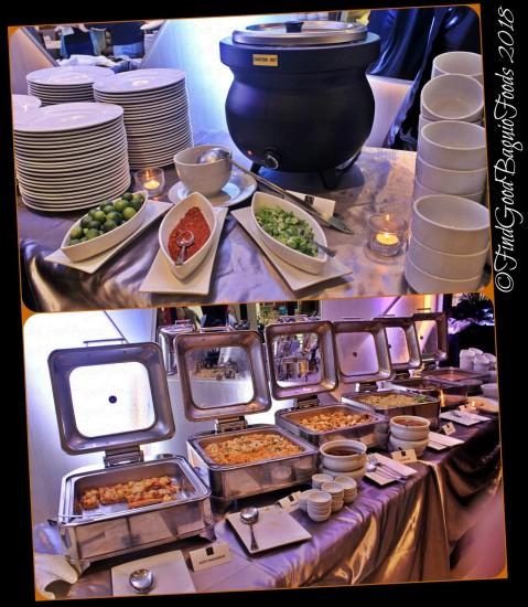 Baguio Aura 1 Hotel inhouse restaurant merienda buffet spread 2018