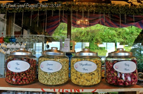 Baguio The Flower Cafe at Villa Romana Hotel blossoms for your tea 2018