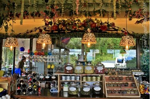 Baguio The Flower Cafe at Villa Romana Hotel flower tea selection 2018