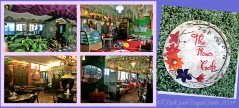 Baguio The Flower Cafe at Villa Romana Hotel lobby and dining area 2018