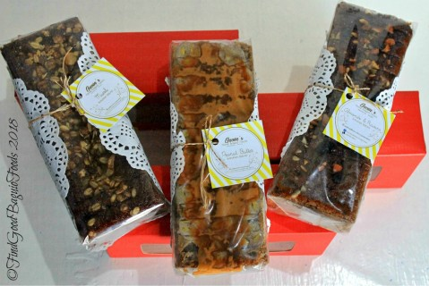Baguio Gavin's Home Baked Treats banana bread varieties 2018