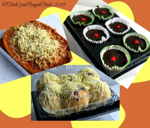 Baguio G-licious Home Bakery cheesy flan, dream cake cupcakes, cheesy ube ensaymada 2018