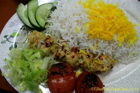Baguio Amohosein Iranian Food and Beverages chicken yogurt marinated with rice 2018