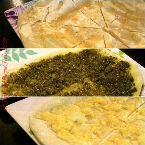 Baguio Elshabab Restaurant (Araby Restaurant) pastry labneh, pastry zatar, pastry mix cheese 2018