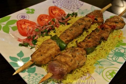 Baguio Elshabab Restaurant (Araby Restaurant) shish taouk plate 2018
