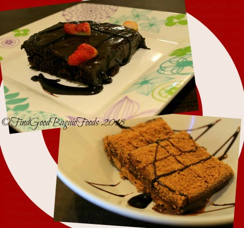 Baguio Elshabab Restaurant (Araby Restaurant) chocolate cake moist and special graham 2018