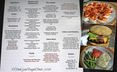 Baguio Uncle Matt's Country Store and Restaurant/Sewell's Old World/Sewell's Old World Delicatessen 2018 menu