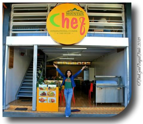X at La Trinidad metro Baguio Mountain Chef International Cuisine and Cake House 2018