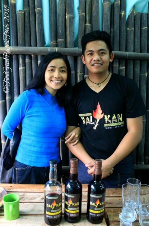 X and Chef Harry of Baguio Dalikan Taste Asia Food Terminal 2019