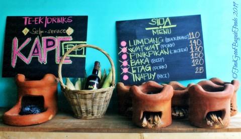 Baguio Dalikan Taste Asia Food Terminal 2019 menu of the day