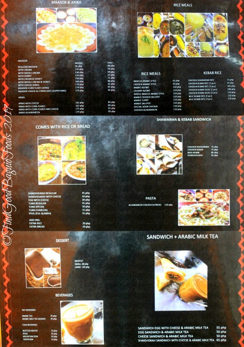 Baguio Alharameen Arabic Food 2019