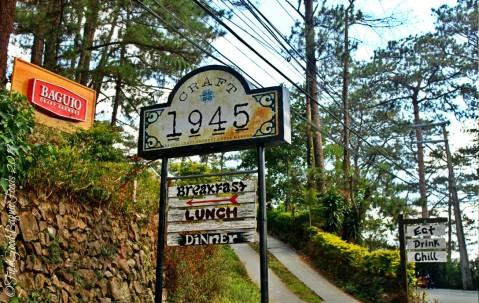 Signs of Baguio Craft 1945 - Casa Marcos 2019