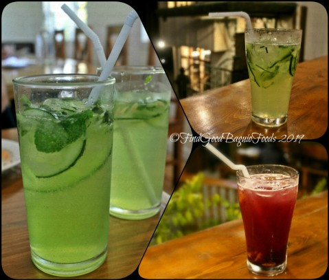 mocktails at Baguio Craft 1945 - Casa Marcos 2019