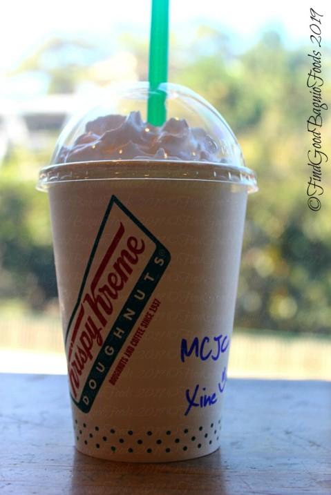 Baguio Krispy Kreme matcha coffee jelly 2019