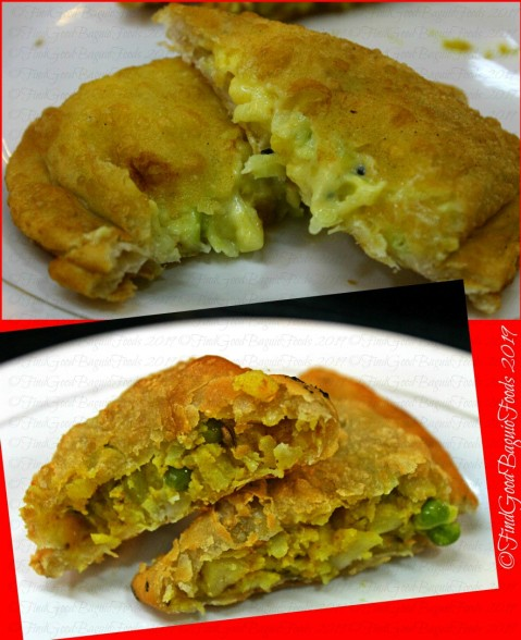 Baguio Qilla Restaurant cheese and potato samosa 2019