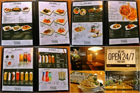 Baguio The Terminal Resto Cafe menu 2019