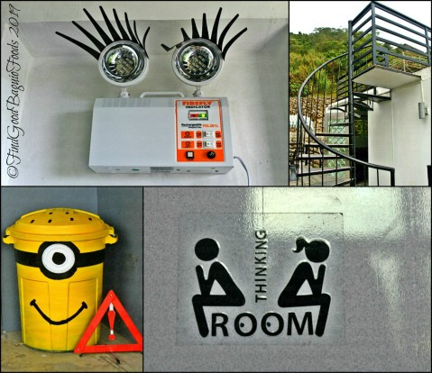 Tuba metro Baguio Zaxxun Robot Cafe little details around Zaxxun 2019