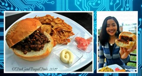 Tuba metro Baguio Zaxxun Robot Cafe barbecue beef sandwich 2019