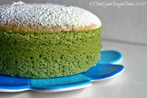 Baguio Afters by Pedro's 2019 matcha Japanese cheesecake