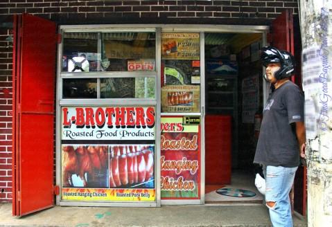 La Trinidad metro Baguio L-Brothers Roasted Food Products store facade