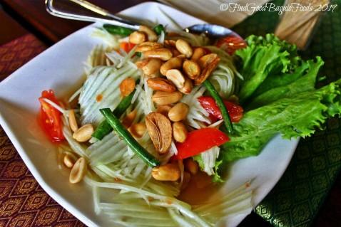 Baguio Somtam Thai Restaurant 2019 som tam salad - papaya salad