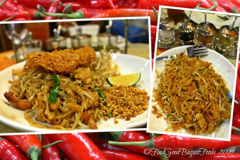 Baguio Somtam Thai Restaurant 2019 pad Thai - stir fried noodles