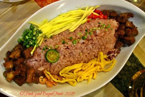 Baguio Somtam Thai Restaurant 2019 khao kluk kapi -bagoong rice