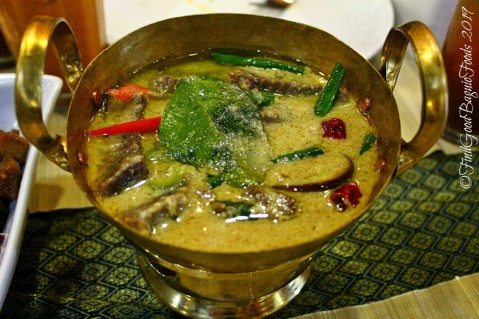 Baguio Somtam Thai Restaurant 2019 kaeng kiew wan nua - beef in green curry