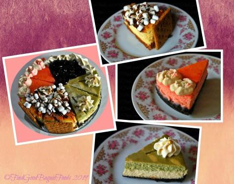 Baguio Manini's 2019 cheesecake sampler