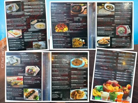 Baguio SAJJ Shawarma 2019 menu