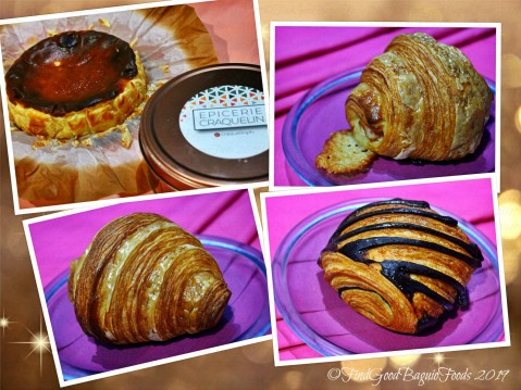 Baguio Epicerie Craquelin 2019 burnt cheesecake croissants and pain au chocolat